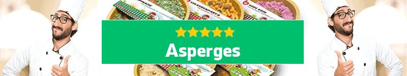 Asperges maaltijd aan huis