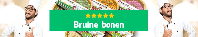 Bruine bonen maaltijd aan huis