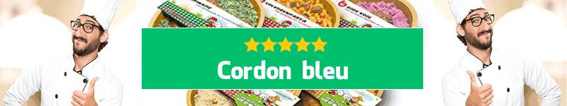Cordon bleu maaltijd aan huis