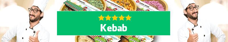 Kebab maaltijd aan huis