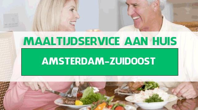 maaltijdbezorging in Amsterdam Zuidoost