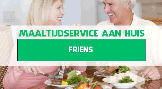 maaltijdbezorging in Friens