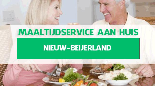 maaltijdbezorging in Nieuw-Beijerland