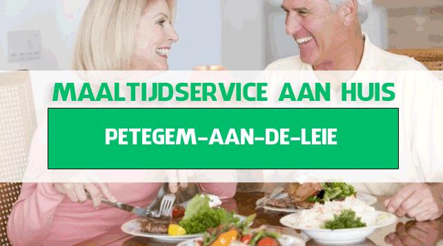 maaltijdbezorging in Petegem-aan-de-Leie