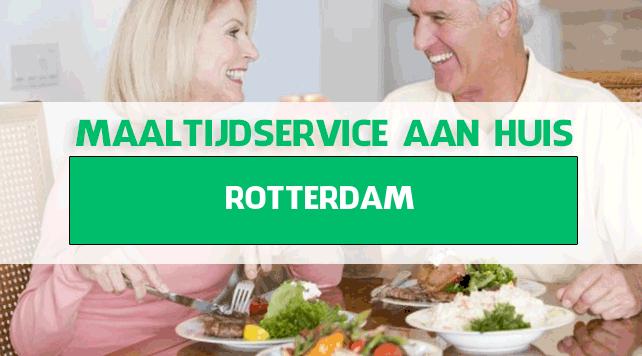 maaltijdbezorging in Rotterdam