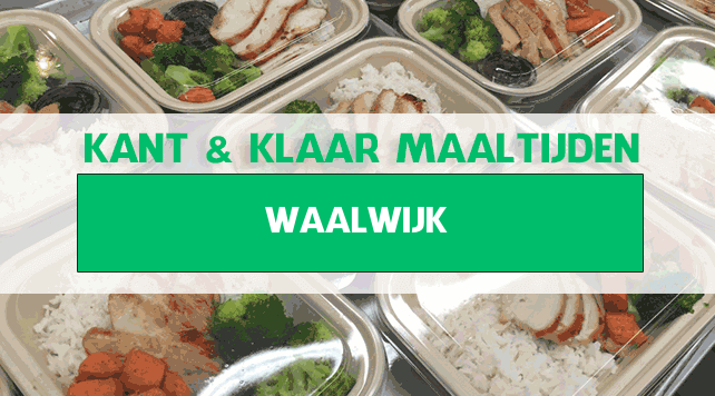maaltijden aan huis Waalwijk