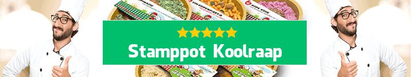 Stamppot Koolraap maaltijd aan huis
