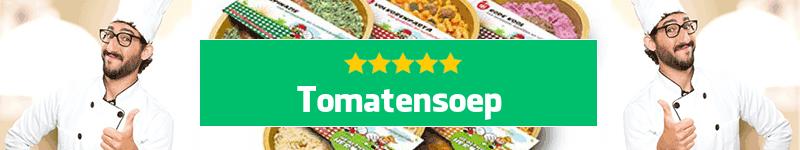 Tomatensoep maaltijd aan huis